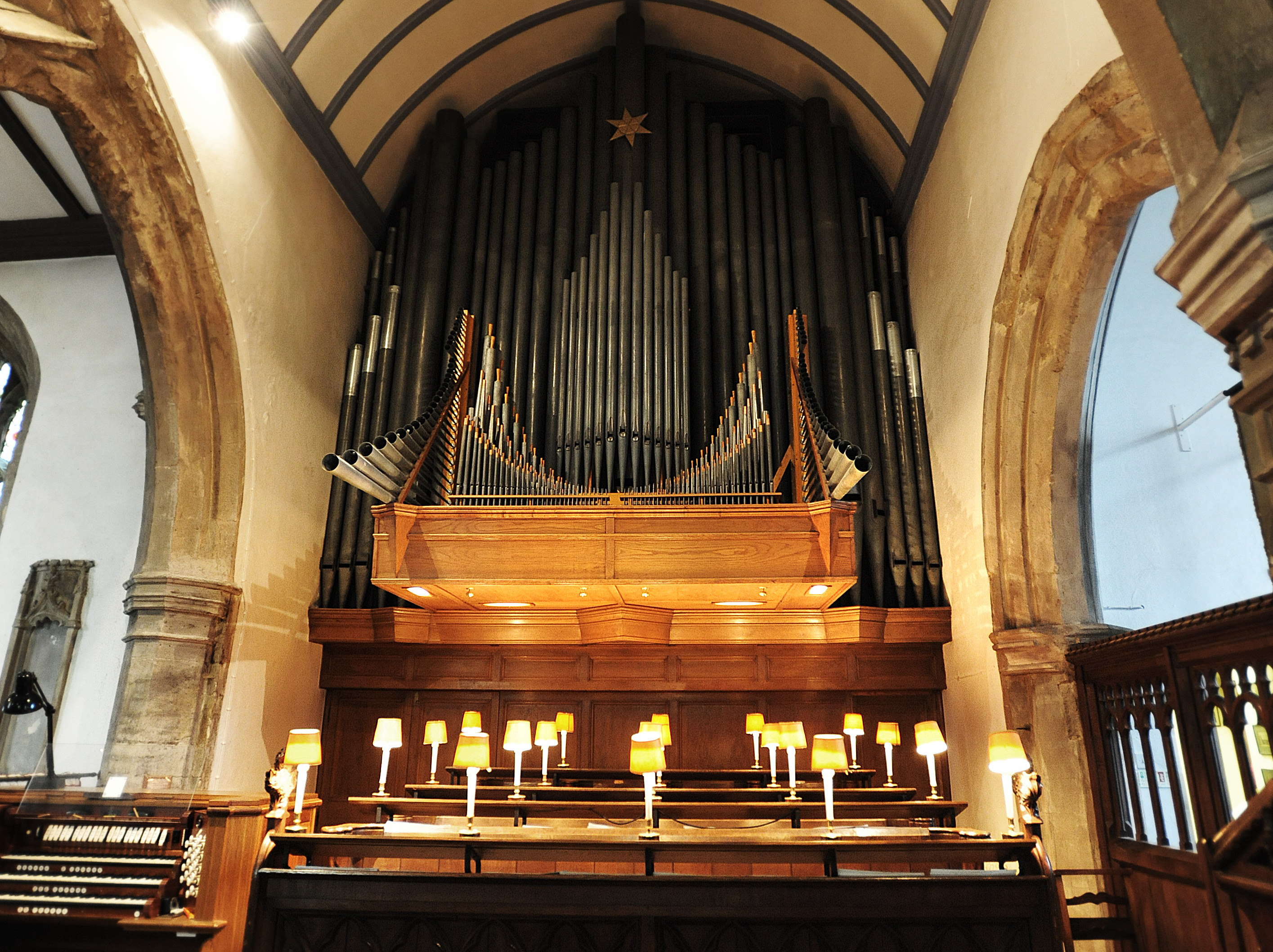 Willis Organ & Choir Stalls