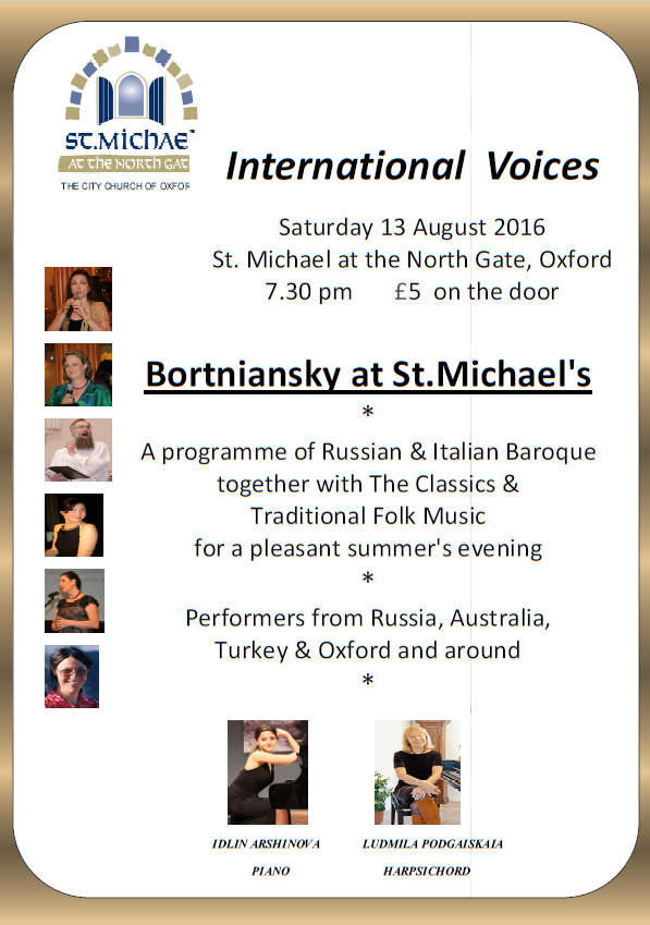 International Voices 13th August