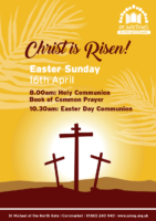 Easter Sunday 16th