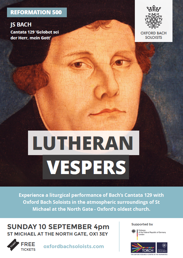 Lutheran Vespers 10th September 2017 at 16:00