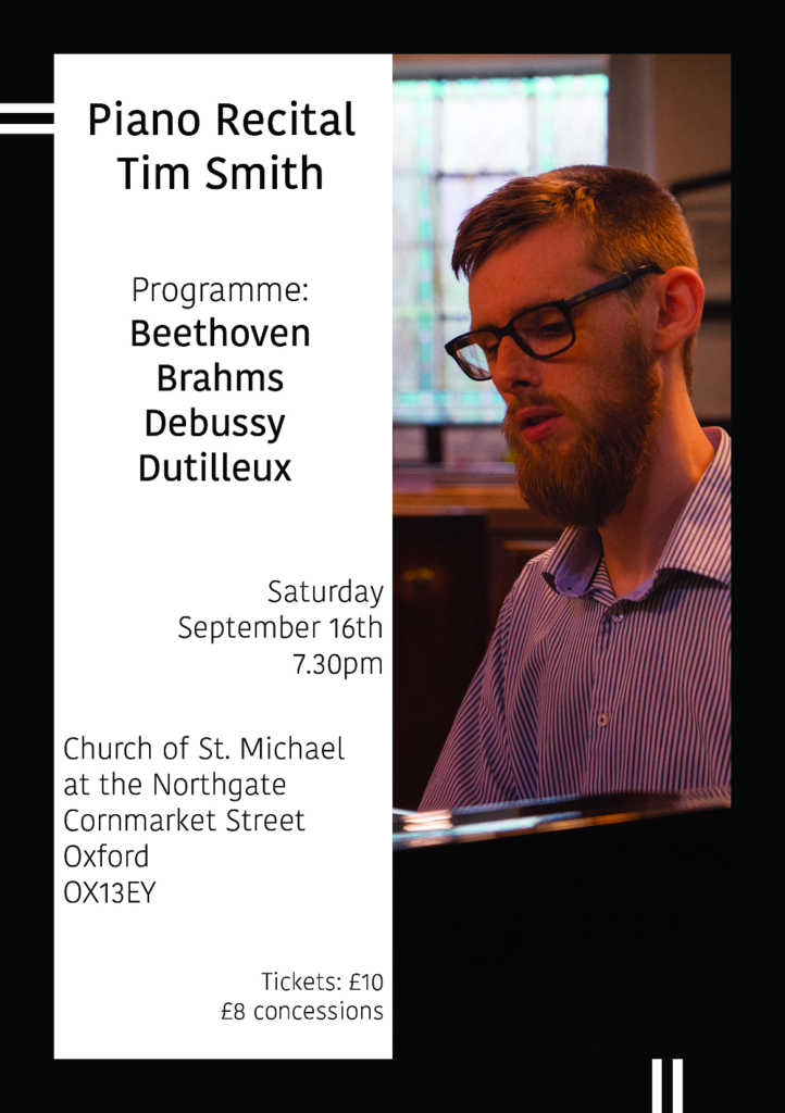 Piano Recital by Tim Smith